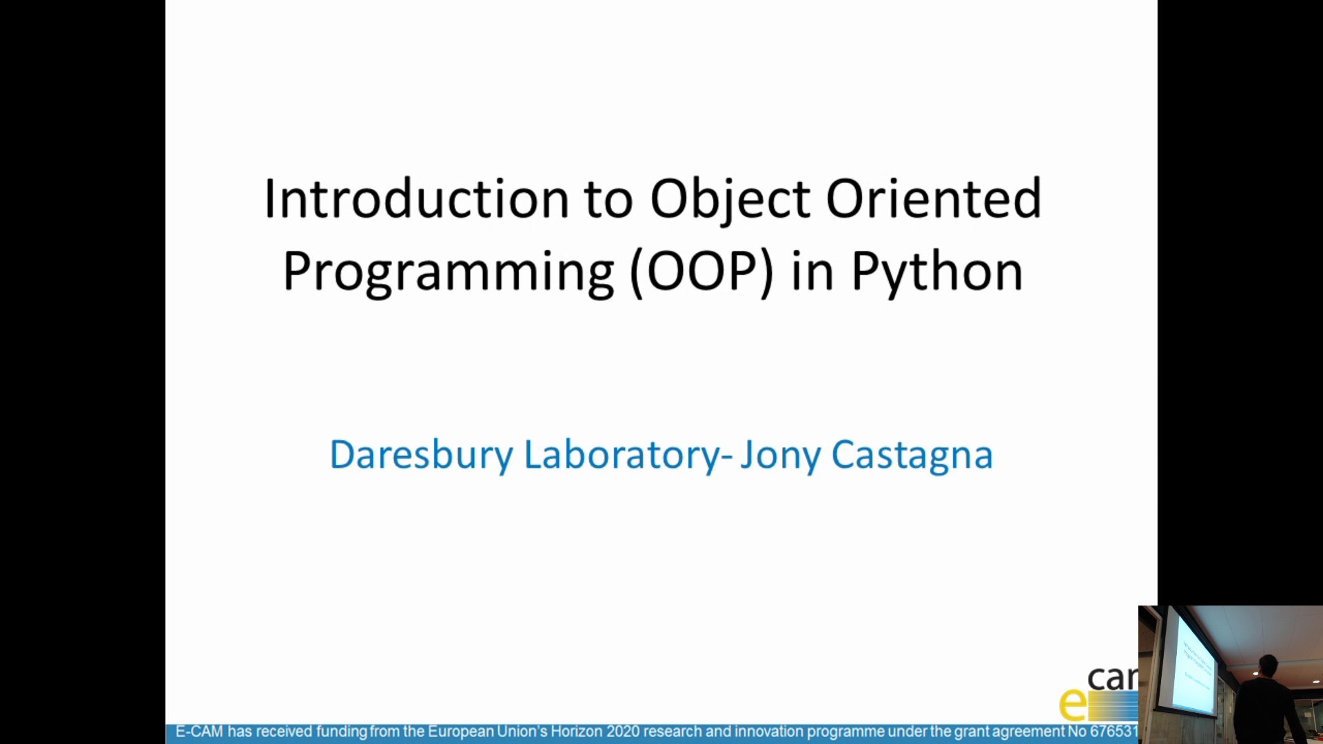 Thumbnail of Object Oriented Programming: Core concepts and Python examples