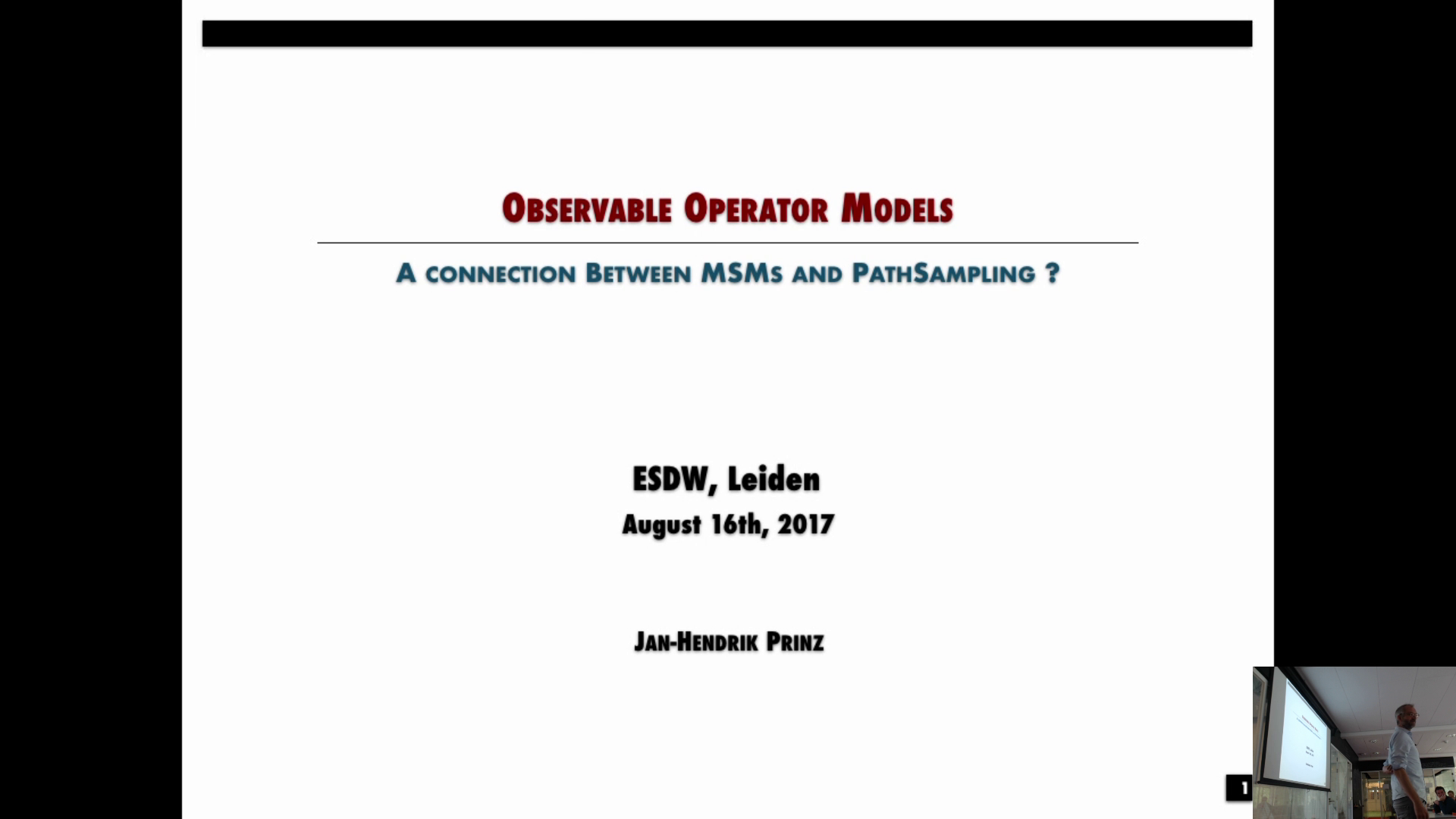Thumbnail of Observable operator models: How to connect Markov state models and path sampling