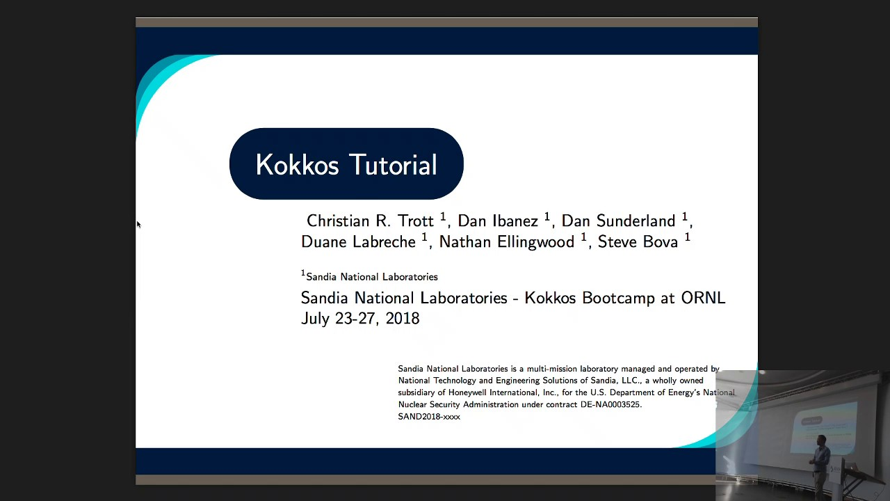 Thumbnail of Kokkos: Enabling many-core performance portability through  polymorphic memory access patterns