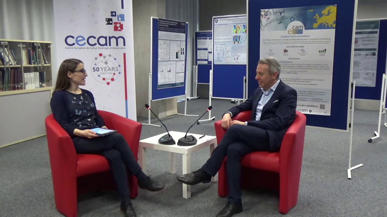 Thumbnail of E-CAM interview with Massimo Noro
